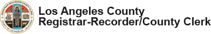 Los Angeles County Registrar-Recorder/County Clerk